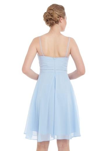 Pierre Cardin Askılı Kısa Elbise Mavi
